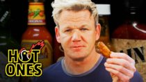 Gordon Ramsay Eating REALLY Spicy Wings