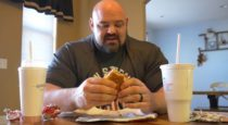 Pro Strongman Brian Shaw Eats 25,000 Calories for Cheat Day