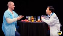 Actor Ken Jeong Eats Progressively More Spicy Wings on Hot Ones